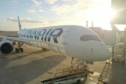 """Finnair perunut valtaosan maanantain lennoista, tukilakko vaikuttaa myös tiistain lentoihin –""""Ei ole tungosta, kaikki on melkein tyhjää"""", Kittilään matkalla ollut lentomatkustaja kommentoi tilannetta"""