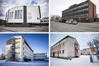 Tyhjien tilojen ylläpito maksaa Rovaniemen kaupungille lähes miljoona euroa vuodessa – ja samaan aikaan moni kaupungin yksikkö toimii vuokratiloissa