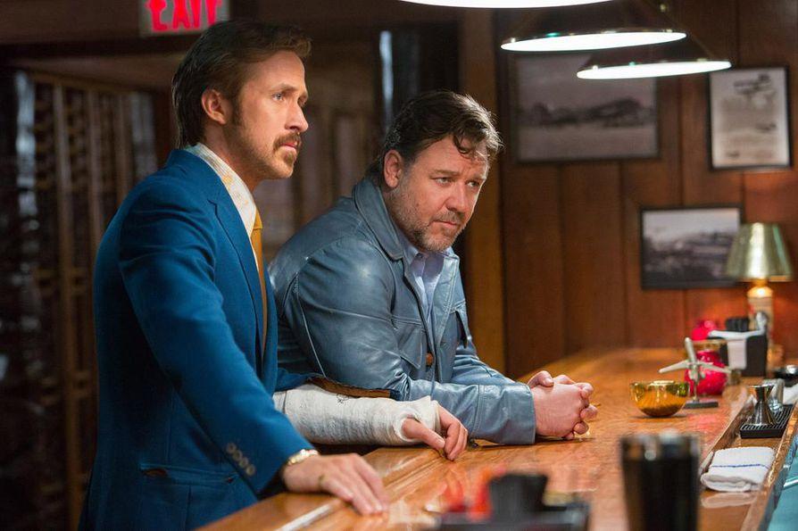 Ryan Gosling ja Russell Crowe tutkivat murhaa 1970-luvun Los Angelesissa The Nice Guys -elokuvassa.
