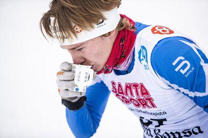 Jarkko Kukkonen antoi vahvan näytön Rukan talvikisoissa