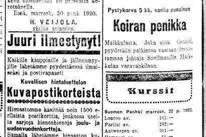 Vanha Kaleva: Työttömyys vaivaa Oulun sekatyöläisiä, O. Karhi puuttui asiaan