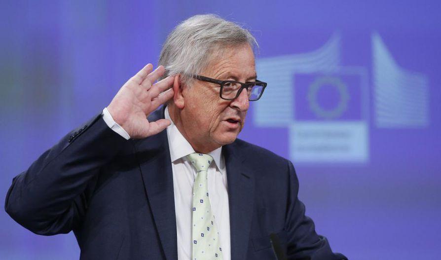 EU-komission puheenjohtaja Jean-Claude Juncker vertaa Britannian EU-eroa avioeroon.