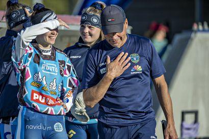 Tappion taustalla myös syitä hymyyn – KeKi:n naisten kausi päättyi, mutta seuran B-tyttöjen kiikarissa on Suomen mestaruus