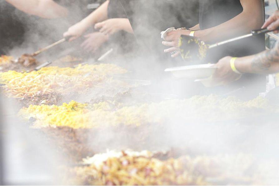 Myös festivaalien ruokavaihtoehdot muuttuvat aikojen myötä. Arkistokuva.