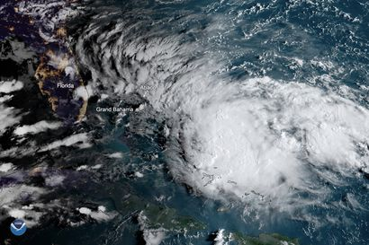 Dorian-hurrikaanin tuhoamaa Bahamaa uhkaa nyt Humberto - trooppisen myrskyn ennustetaan vahvistuvan hurrikaaniksi