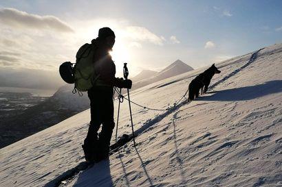 """""""Suurin, mitä alueella on nähty ainakaan kymmeneen vuoteen"""" – Lumivyöry vetäisi Sannan mukaansa ja surmasi koiran, nyt kokenut vapaalaskija haluaa varoittaa muita"""