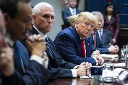 Näkökulma: Trump yrittää nitistää koronaviruksen ja saada pääsylipun kakkoskaudelle – likaisen työn saa hoitaa varapresidentti Pence