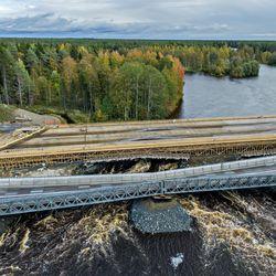 Nelostien kiertotiejärjestelyt Kiiminkijoen sillan vuoksi jatkuvat ainakin ensi viikon ajan