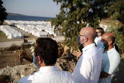 EU:n sovittava yli 12 000 siirtolaisen sijoittamisesta palaneelta leiriltä – Kreikka odottaa leirien yhteistä hallinnointia, jäsenmaissa on ollut hiljaista avuntarjonnan suhteen