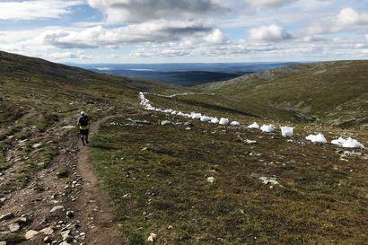 Pallaksen Taivaskerolle pääsee pian sorapolkua pitkin – Lapin kansallispuistojen ja erämaa-alueiden retkeilykohteita kunnostetaan tänä kesänä 3,5 miljoonalla eurolla