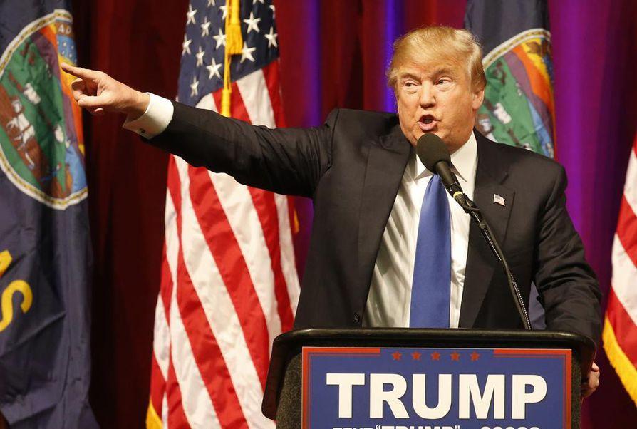Donald Trump kerää ääniä esivaalissa, mutta hänen tyylinsä myös huolestuttaa monia amerikkalaisia.
