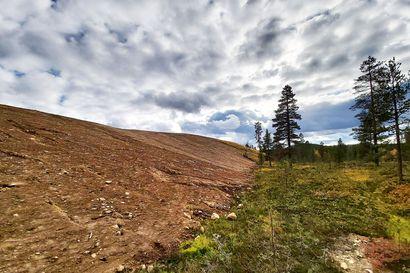 Metsähallitus entisöi Saariselän vanhan kaatopaikan – Uudella puomilla estetään, että alue ei muutu uudestaan kaatopaikaksi