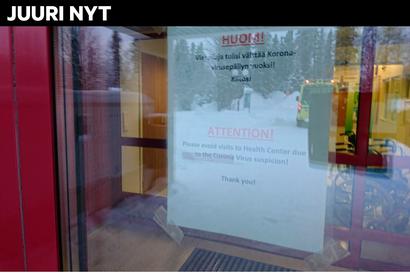 Sairastuneet isä ja poika ovat eristyksissä Ivalon terveyskeskuksessa, äiti eristettiin myös. Muita mahdollisesti oireilevia pyydetään soittamaan hätänumeroon