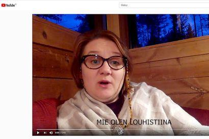 Louhistiina lausuu nyt somessa kansanrunoutta – Tiinaliisa Multamäki kannustaa käymään poikkeustilan herättämiä ajatuksia läpi toisen kanssa