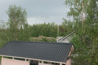 Salama iskee Kuusamossa.