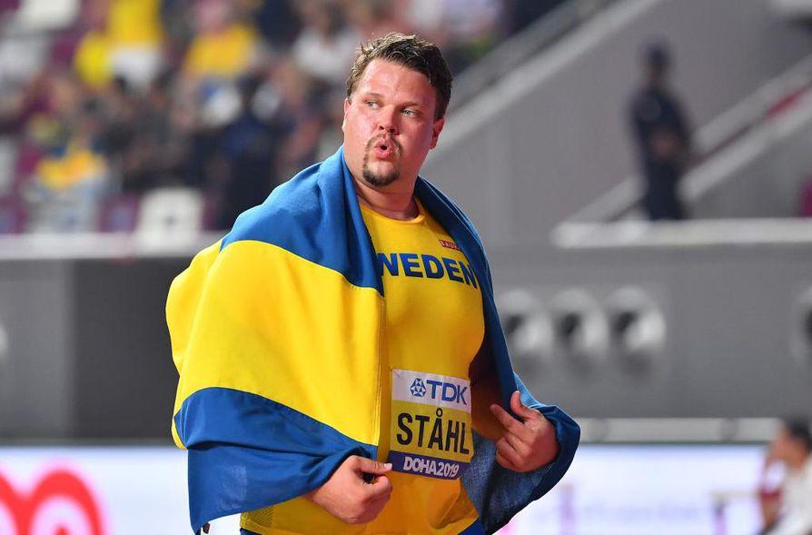 Daniel Ståhl otti omansa Dohan illassa, joka päättyi pohjoismaisiin juhliin.