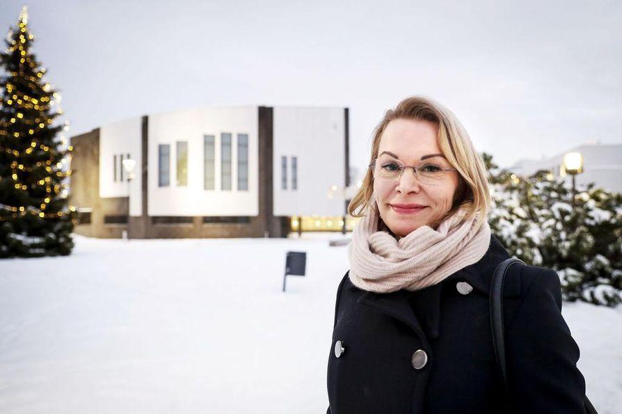 Ulla-Kirsikka Vainio on Rovaniemen uusi kaupunginjohtaja.