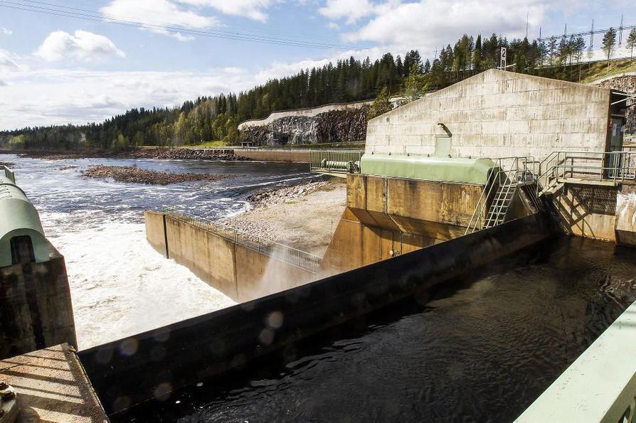 Pirttikosken vesivoimalaitos on hallinnut Rovaniemen maisemaa 1950-luvulta lähtien.