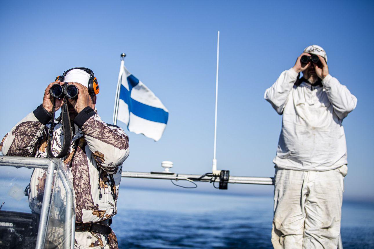 Jouni Heinikoski on seurannut Perämeren alkuperäisintä asukasta läheltä kymmeniä vuosia – nyt hän vei toimittajan ja valokuvaajan viimeisille jäänrippeille, jossa odotti mykistävä näky