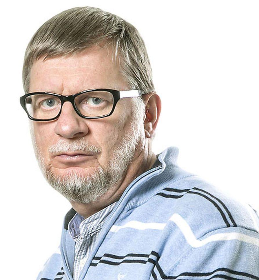 Toimittaja Seppo Ylönen.