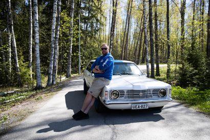 Latelasta tutun Lauri Huttusen rakkaus Ford Taunukseen säilyy
