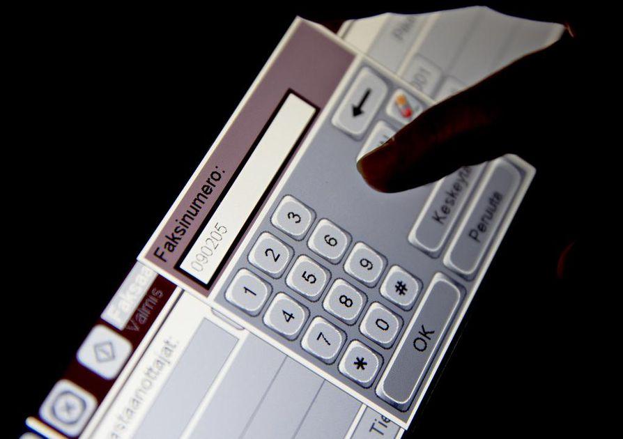 Monissa monitoimilaitteissa löytyy myös faksiominaisuus.