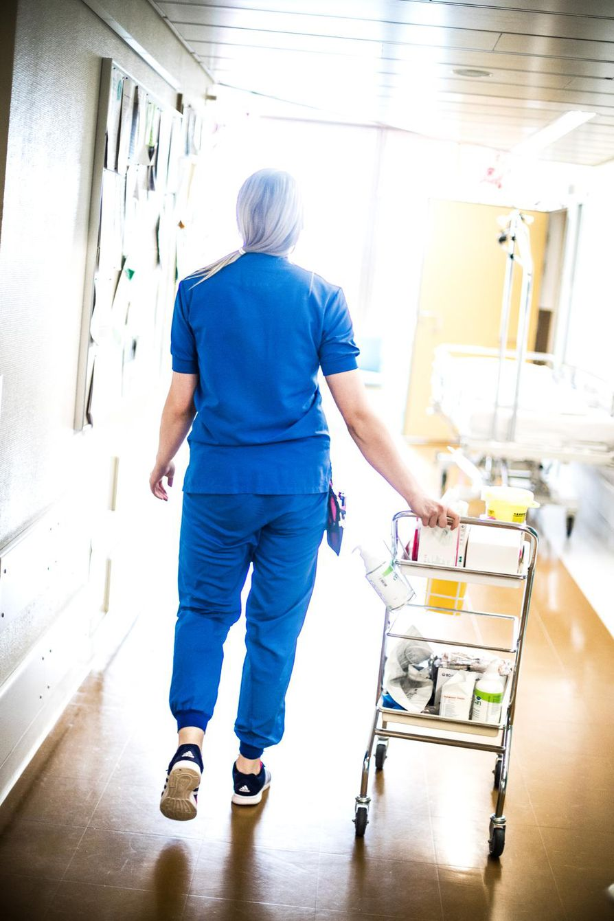 Lepoajan muuttuminen vaikuttaa paljon sairaaloiden arkeen.