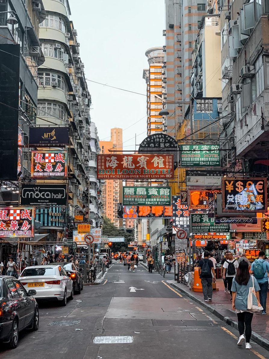 Hongkongissa voi myös elää rauhallista arkea protesteista huolimatta.