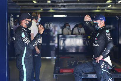 """Sekunnin tuhannesosat olivat Hamiltonin puolella Bottasta vastaan Monzan aika-ajoissa – """"Osasin odottaa tiukkaa taistelua"""""""