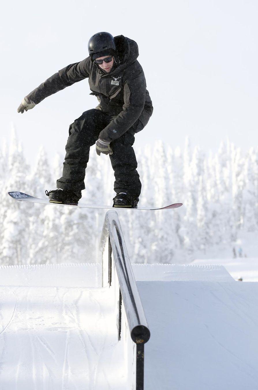 Snowpark kerää laskijoita vuosi vuodelta yhä enemmän.