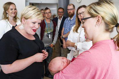 Länsi-Pohja toivoo synnytyksille jatkoa niin kauan kuin niitä on yli 400 vuodessa – tämän vuoden ennuste on enää 450