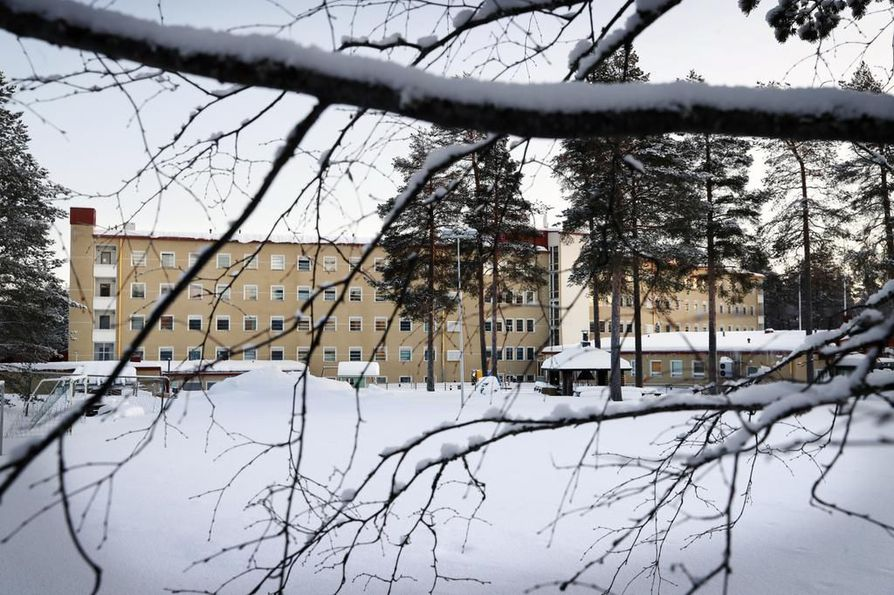 Kuvassa Oulussa sijaitseva Heikinharjun vastaanottokeskus.