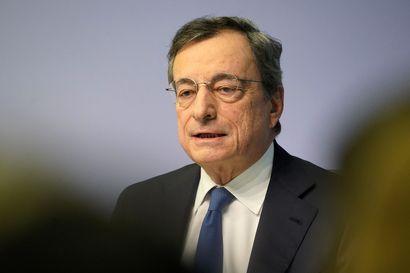 Draghi päätti kautensa EKP:n johdossa odotetusti: ohjauskorko pysyy nollassa