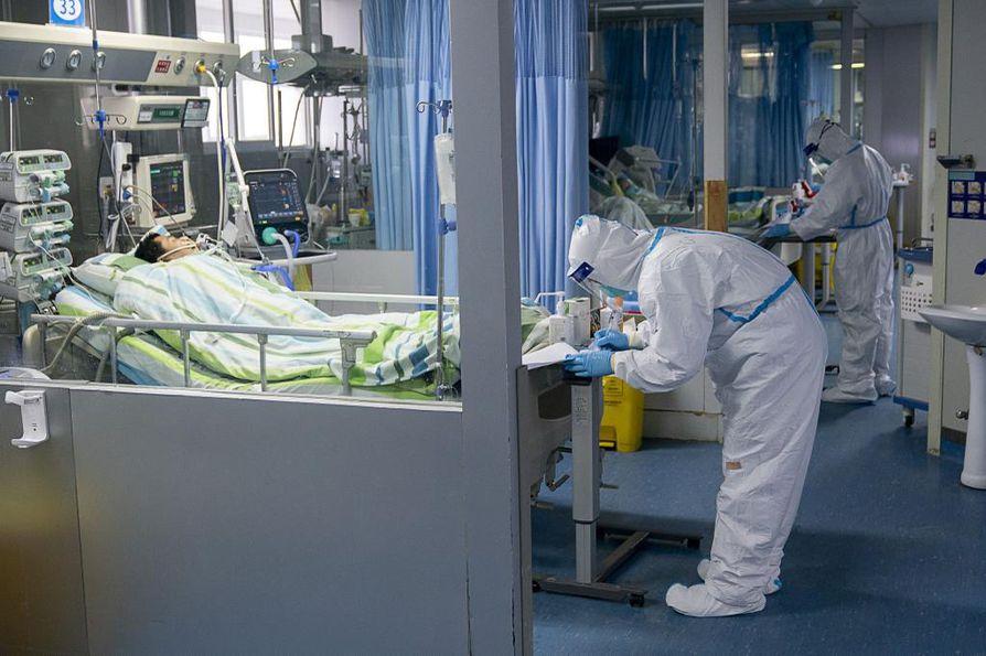 Kiinassa yli 66 000 ihmistä on sairastunut koronavirukseen.