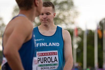 Oulun Pyrinnön Samuel Purola avaa kautensa – starttaa 200 metrille Vaasassa