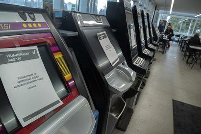 Veikkaus sulkee Pohjois-Pohjanmaan peliautomaatit torstaiaamuna koronatilanteen takia