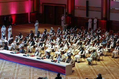 Rauhanneuvottelut alkoivat Dohassa – Afganistanin hallitus ja Taliban kokoontuivat ensimmäistä kertaa saman pöydän ääreen