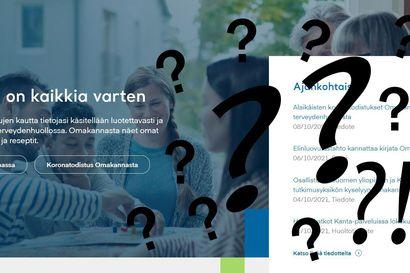 Kysyimme Kanta-tiedoista: Miten toimia, jos esimerkiksi lääkäri kirjaa virheellisiä tietoja?