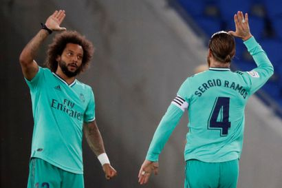 Ramosin ontuminen vaihtoon varjosti Real Madridin voittoa - Barcelonan putosi kakkoseksi