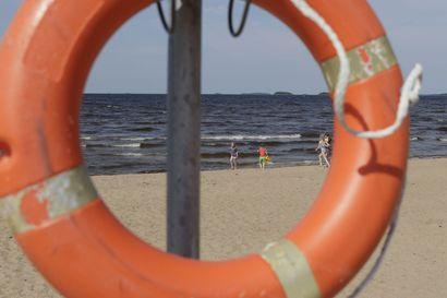Nallikarin rannalla näköpiiristä kadonnut lapsi aiheutti pelastustehtävän