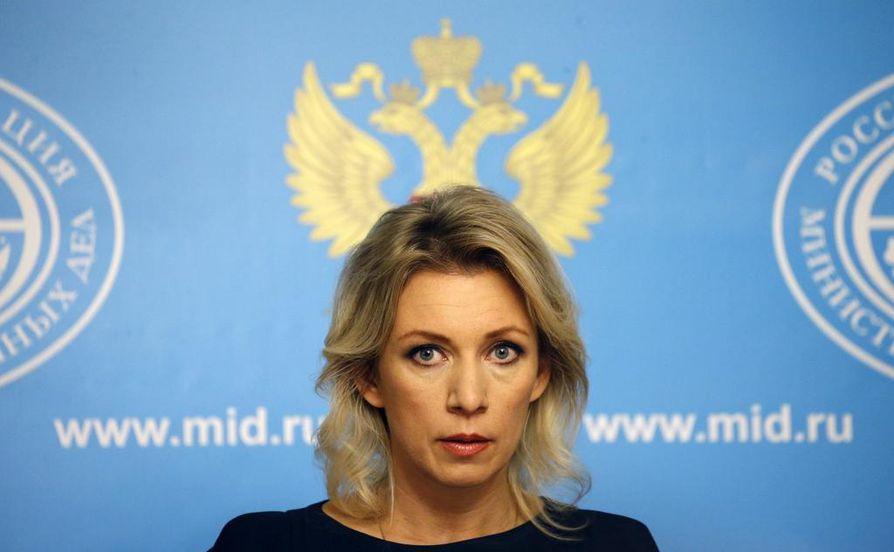 Maria Zakharova on johtanut Venäjän ulkoministeriön viestintäosastoa elokuusta 2015 lähtien.