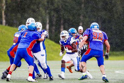 Rovaniemi Nordmen taisteli ensimmäisessä kotiottelussaan, Saints korjasi pisteet