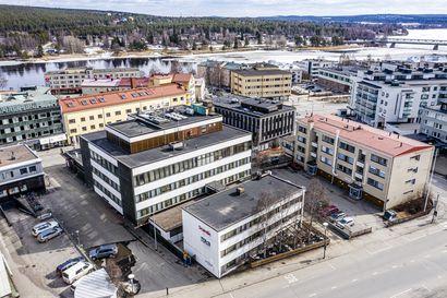Iso muutos katukuvaan: Rovaniemen Piston ja Polarin tontille suunnitellaan kerrostaloja – 1960-luvun rakennukset ovat omistajien mukaan elinkaarensa päässä