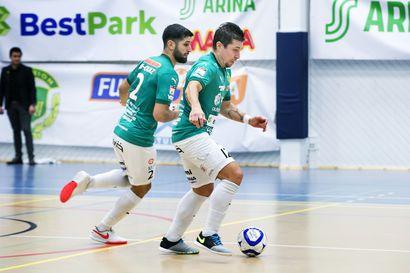 ToPV avasi voittotilinsä futsal-liigassa JoSePa:n kustannuksella