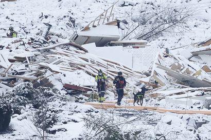 Norjan maanvyöryalueelta löytyi sunnuntaiaamuna viides kuollut