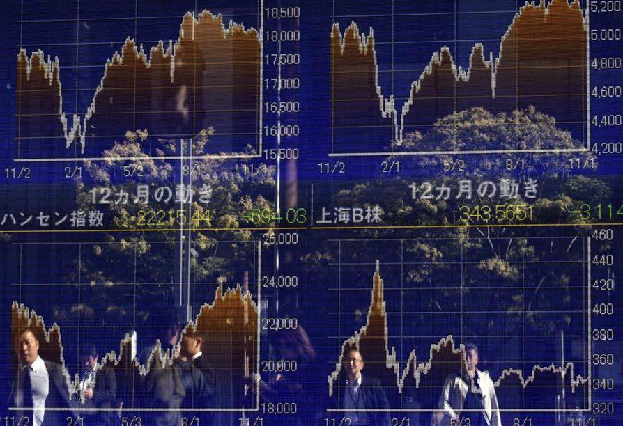 Aasian pörssit ovat sukeltaneet Yhdysvaltain presidentinvaalien ääntenlaskennan edetessä.