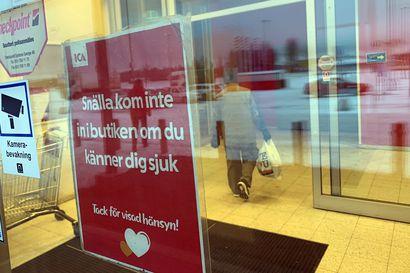 Koronatartunnat laskussa Norrbottenissa –Tilanne paras Tornionlaaksossa