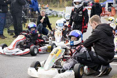 Kartingin mestarit kilpailivat Ruukin FK-kerhon radalla – kilpailu nyt ensimmäistä kertaa Pohjois-Suomessa