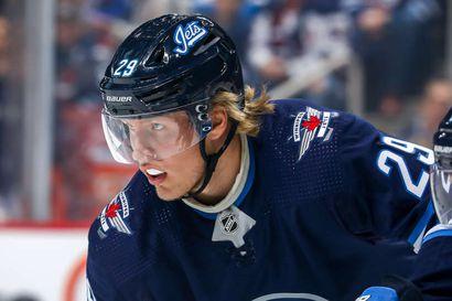Winnipegillä murheellinen paluu NHL-koitoksiin – Laine ja Scheifele loukkaantuivat tappiopelissä