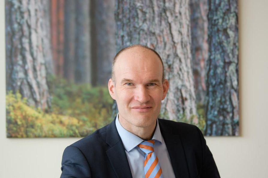 Lapti Groupin toimitusjohtaja Timo Pekkarinen.